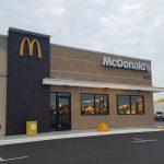 McDonald's restaurant exterior signage