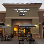 Starbucks Coffee exterior signage