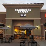 Starbucks Coffee exterior signage
